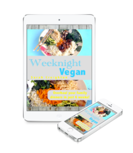 Weeknight Vegan iPad:iPhone